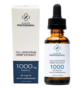 Ananda Professional's hemp-flower extract