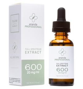 Ananda Professional's hemp-flower extract